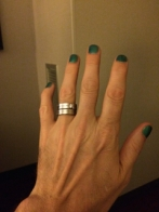 Got mah nails done at Readercon 2014! Swell party, swell folks.